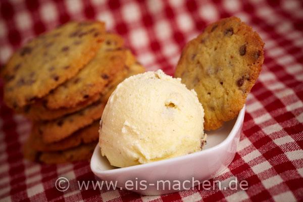 rezept f r chocolate chip cookie dough eis. Black Bedroom Furniture Sets. Home Design Ideas